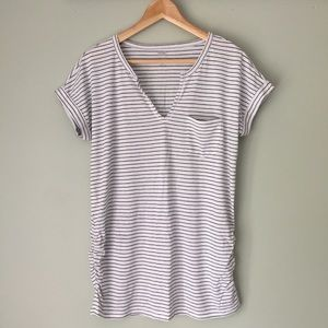Old Navy Maternity Relaxed Striped T-Shirt